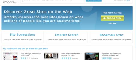 xmarks - Os 5 melhores Add-Ons para o Navegador Firefox